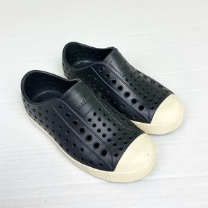 Native Jefferson Shoes Black and Cream size 12